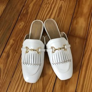 Shoes - White Oxfords